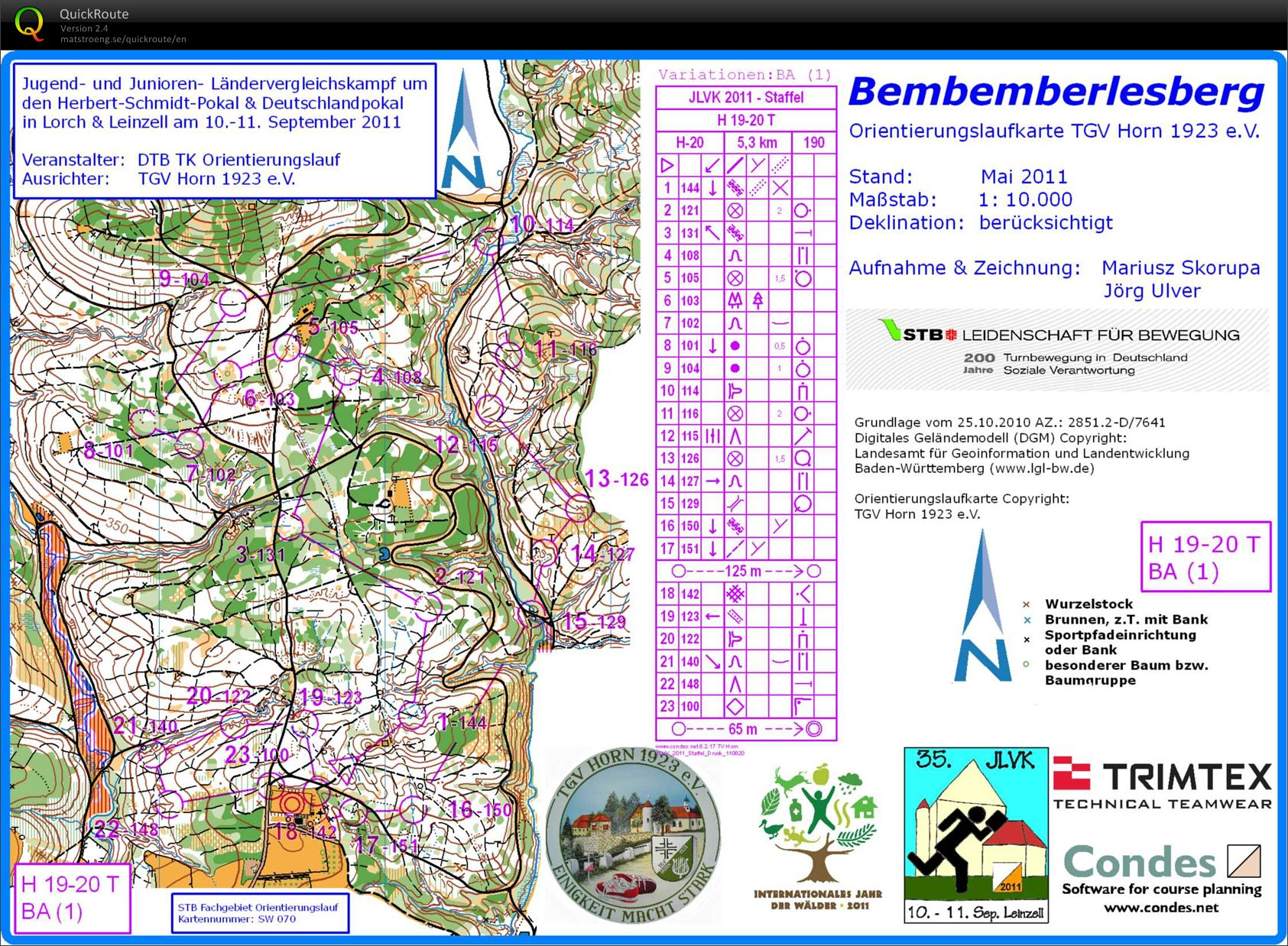 Training Bemberlesberg (2011 JLVK-Relay) (01/04/2012)