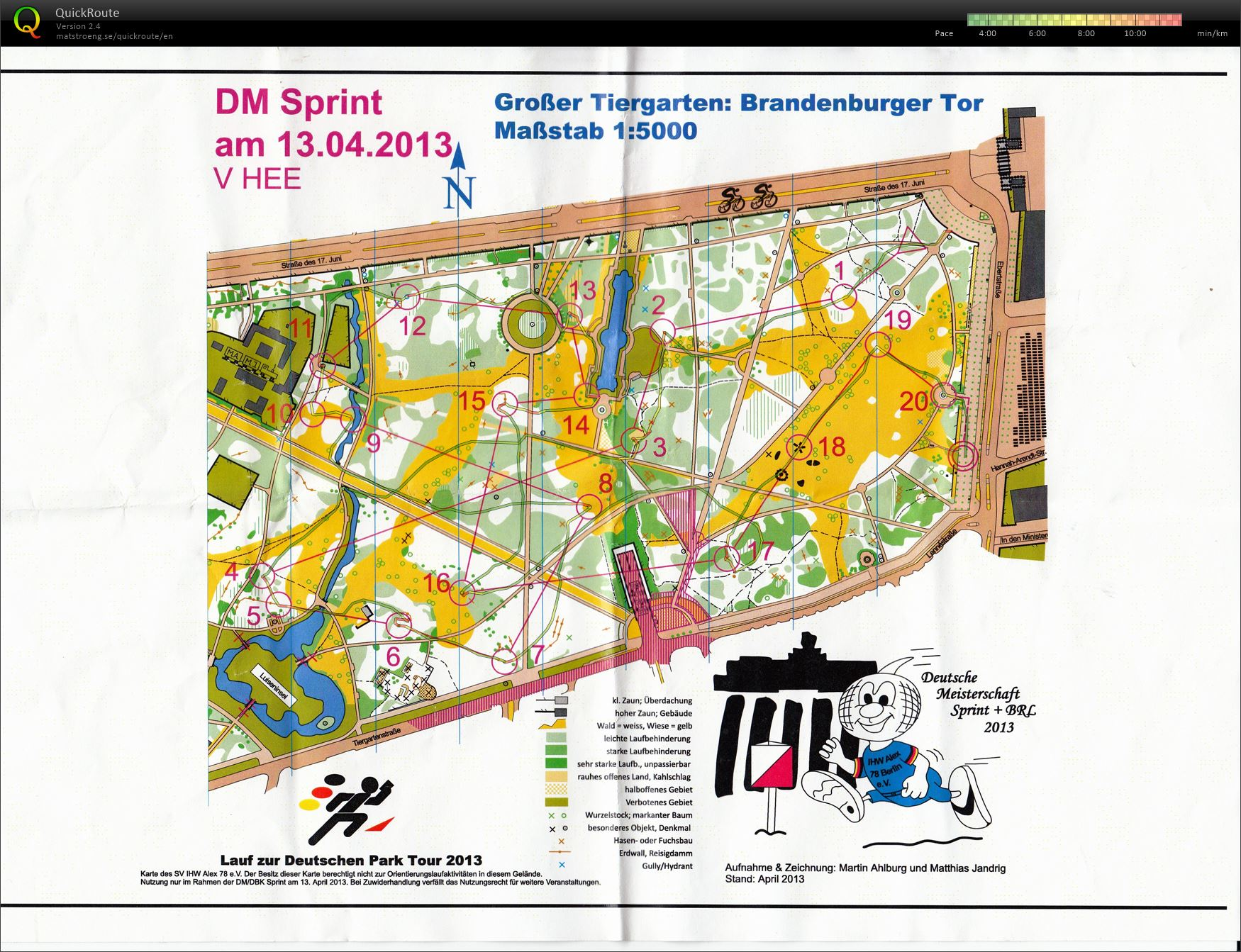 German Sprint Champs - Qualification (13/04/2013)